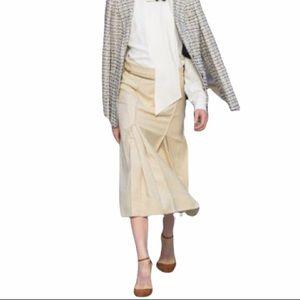 REWIND A Line Womens Pleated detail Skirt Y2K